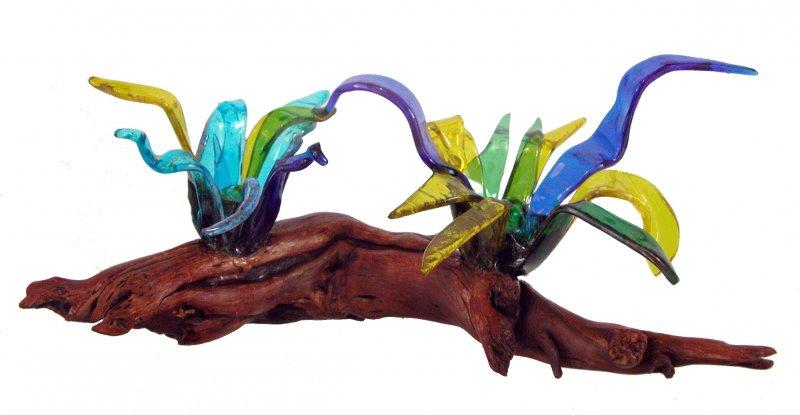 Rosa Segura Esculturas Vidreo